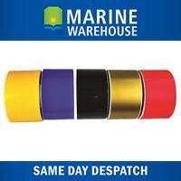 Boat Stripe Tape Yellow for Coveline 44mm x 15M - 15 Metres Vinyl Film 401820