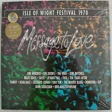 Message to Love Isle of Wight Festival 1970 LaserDisc Box Set +24K CD Soundtrack