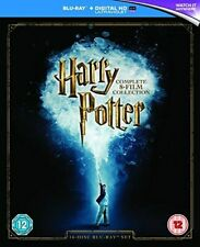 Harry Potter The Complete 8 Film Collection 16 Disc Blu-ray Set