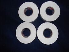 "WHITE ATHLETIC TAPE  4 rolls  1""x25yds.   * FIRST QUALITY *"