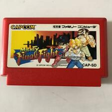 VG++ MIGHTY Final Fight Nintendo Famicom NES NTSC-J Japanese ver F/S