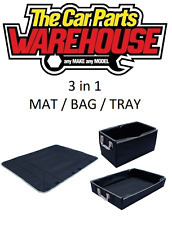 THREE IN ONE Carpet Mat / Tray / Bag Great organiser for boot or luggage