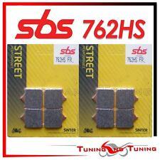 Pasticche Anteriori SBS HS Sinter Per APRILIA RSV R 1000 2004 04 2005 05  762 HS