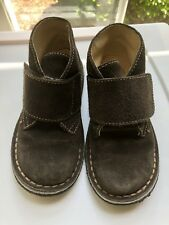Boys PRIMIGI Brown Suede Leather Chukka Ankle Boots Shoes Kids EU 25/ US 8