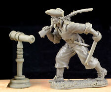 Barzso Swivel Gun - unpainted resin accessory - 54mm figure shown for scale only