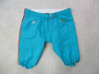 Nike Miami Dolphins Pants Size 52 Green Orange Football Team Issue Game Worn Use