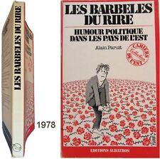 Les barbelés du rire humour politique pays de l'Est 1978 Alain Paruit Soviétique