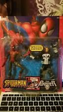 Spiderman Classics THE PUNISHER 2 PACK Figure Marvel Legends 1/12 6 inch New
