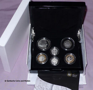 2011 ROYAL MINT SILVER PROOF COIN COLLECTION - SCARCE COINS - FULL PACKAGING