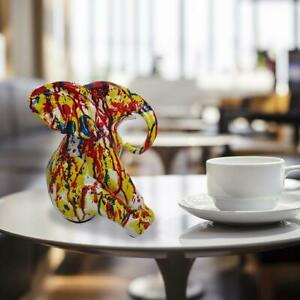 GILLIE AND MARC. Direct from Artists. Authentic resin sculpture Elephant - White