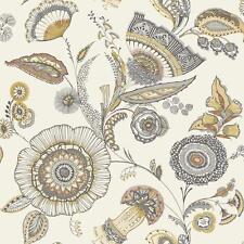 Arthouse Catarina Floral Leaf Wallpaper Modern Metallic Motif Jacobean 690801