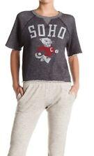 Champion Tom Snyder SS graphic cutoff sweatshirt SOHO SzM Ret$118
