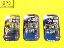 Set Of 3 Packs CEC 27W 12V 1.6A Single Filament Mini S8 Back-Up Light Bulb 3156