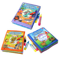 LN_ CN_ KIDS ANIMAL WATER DRAWING BOOK DOODLE PAINTING LEARNING EDUCATIONAL TO