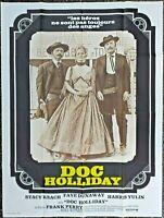 Plakat Kino Original Film Western Doc Holliday 120 X 160 CM