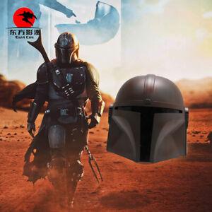 DFYM The Mandalorian Cosplay Helmet PVC Cool Headgear Men One Size Halloween