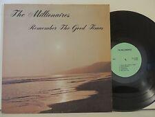 RARE ! The Millionaires LP Remember The Good Times, Private Label - 3 Autographs