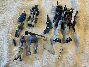Gundam Action Figure Scrap Lot For Rebuild Or Parts