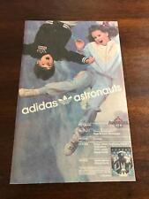"1986 VINTAGE 6.5""x10"" COMIC PRINT AD Young Astronauts Boys & Girls ADIDAS SHOES"
