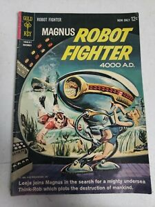 Magnus Robot Fighter 4000 A.D. #4 1963 m3b147