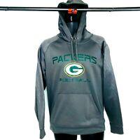 GREEN BAY PACKERS Size S NFL Majestic Team Pullover Sweatshirt Hoodie Mens 2