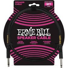 Ernie Ball 6071 Cavo Speaker Black 90 cm  power cable