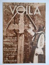 ►VOILA 227 /1935 - ILE DE PAQUES - COMBATS DE COQS -PILOTES DE LIGNES - ARLEQUIN