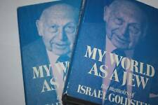 2 VOL SET My World As a Jew The Memoirs SIGNED LEO JUNG