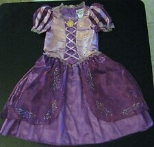 Nwt! Disney World Princess Rapunzel Fancy Dress Tangled Costume 7/8
