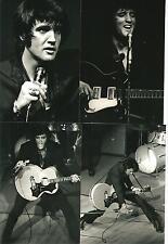 Elvis Presley 16 B/W Photo Set LIVE in Las Vegas 1969 & Free CD