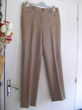 Pantalon GERKE marron Slim-Line taille 48 neuf+ét. valeur 98 euros