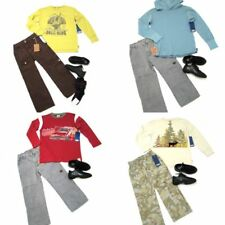 10 piece Boys Clothing Lot CHARLIE ROCKET E LAND Complete Outfits 5T 5 years