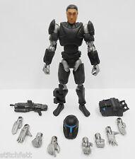"Custom 1/18 Microman DLX Clone Republic Commando Omega Star wars 4"" Figure"