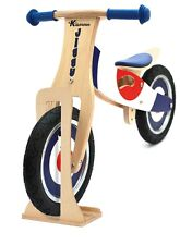 Kidzmotion 'Jiggy' Wooden Balance Bike / first bike with stand SRP £70