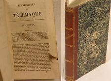 LES AVENTURES DE TELEMAQUE - FR. SALIGNAC DE LA MOTHE FENELON - MAME (F121)