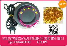 BIG Hot Melt Glue Pot 4 Keratin Fusion Glue Prebonded Human Hair Extensions-220V