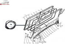 GAZ 69 Gummidichtung der Frontscheibe , aussen, neu. GAS 69 windshield seal.