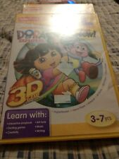 Fisher-Price iXL Learning System Software Dora the Explorer 3D with GLASSES