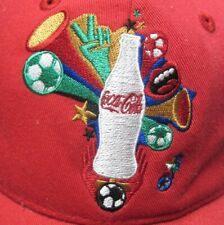 COCA COLA baseball hat FIFA World Cup 2010 soccer cap South Africa NWT Coke
