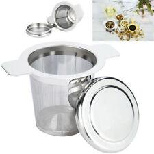 Teesieb Teefilter Edelstahl rostfrei für Tassen und Kannen