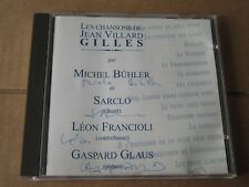 MICHEL BUHLER SARCLO LEON FRANCIOLI GASPARD GLAUS J GILLES SWISS JAZZ AUTOGRAPHS