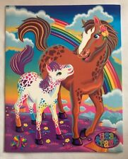 Lisa Frank Rainbow Chaser Horse Pony Folder