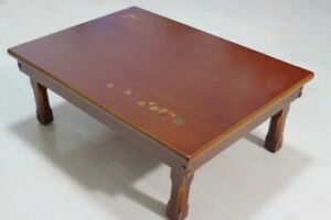 Wood Table Home Furnitures Living Room Traditional Korean Oriental Design Tables