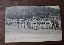 CPA marine militaire française Compagnie de Débarquement Torpilleurs-Mineurs