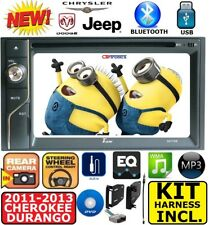 2011-2013 GRAND CHEROKEE & DURANGO DVD VIDEO CD Bluetooth USB AUX Radio Stereo