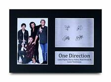 One Direction Signed Pre Printed Autograph Photo Gift For a Pop Fan