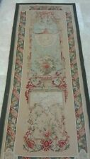 """Der Konsul"" Handwoven FRENCH AUBUSSON WEAVE TAPESTRY 3' wide x 8' tall"