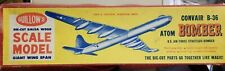 Vintage Guillow's 1/184 Convair B-36 started