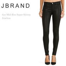 J brand super skinny black jeans style# 6200222, size 26, AUS 8-10