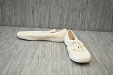 **Keds CH Eyelet WF59388 Comfort Shoes, Women's Size 8, White